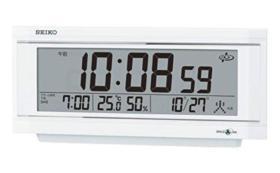 セイコー衛星電波時計_GP501W SEIKO