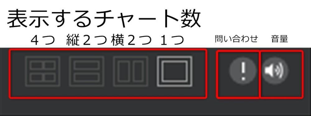 ザオプションデスクトップアプリ右上の問い合わせ、音消し